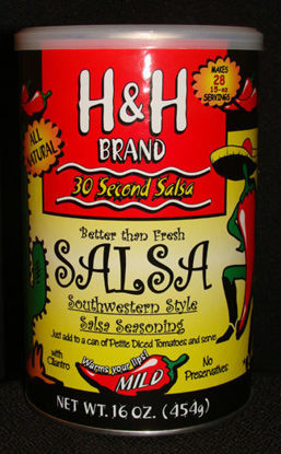 Picture of H&H Brand -  Salsa in 30 Seconds - 16 ounce